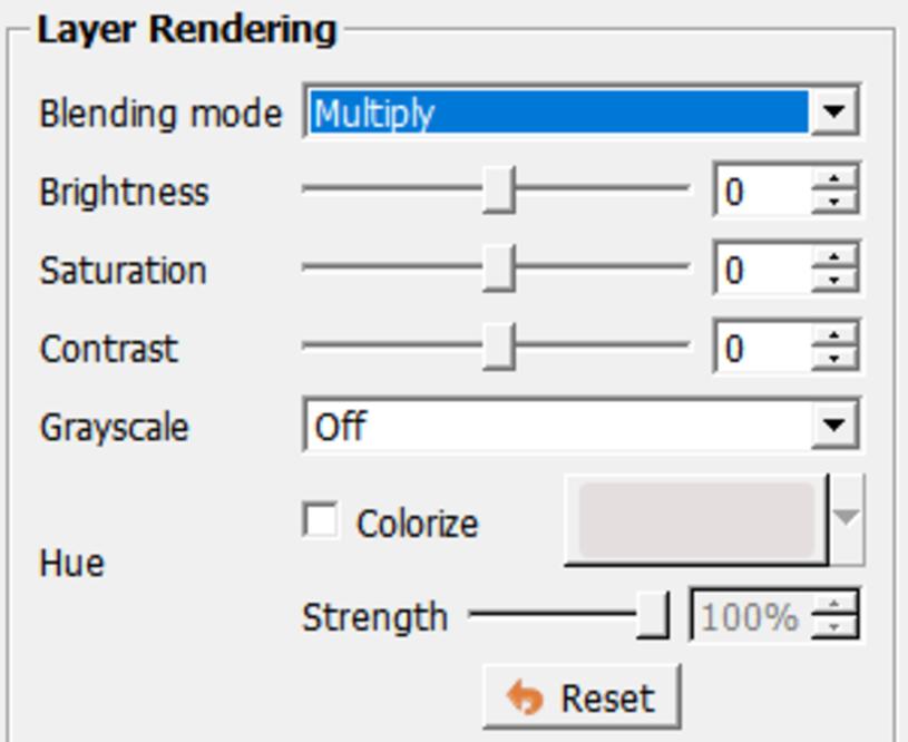 layer rendering
